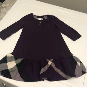 Other - Burberry Children Dress 4Y Purple